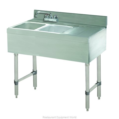 Advance Tabco CRB-42L Underbar Sink Units (Magnified)