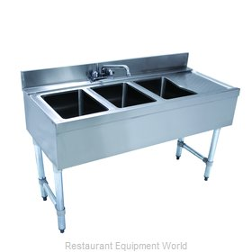 Advance Tabco CRB-43L Underbar Sink Units