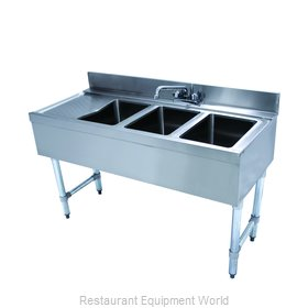 Advance Tabco CRB-43R Underbar Sink Units