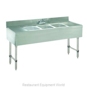 Advance Tabco CRB-63C-X Underbar Sink Units