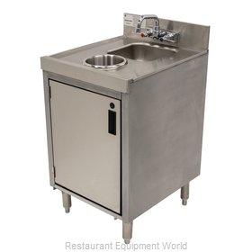 Advance Tabco CRDW-18 Underbar Waste Cabinet, Wet & Dry