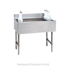 Advance Tabco CRI-12-24-7 Underbar Ice Bin/Cocktail Unit