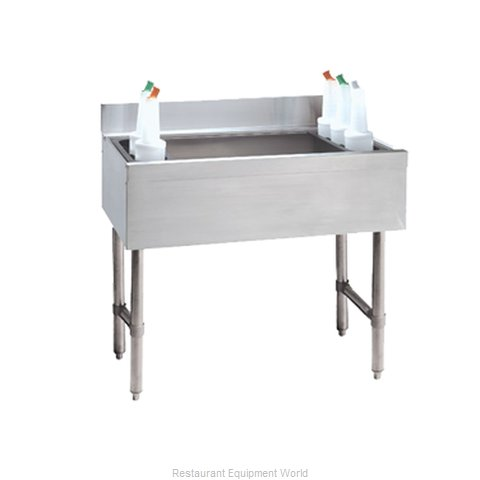 Advance Tabco CRI-12-48-7 Underbar Ice Bin/Cocktail Unit
