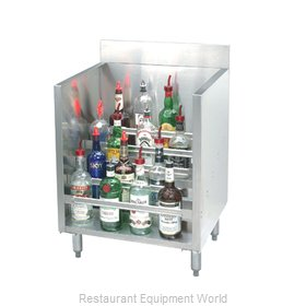 Advance Tabco CRLR-30 Underbar Bottle Display Unit