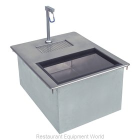 Advance Tabco D-24-WSIBL2-X Ice & Water Unit, Drop-In
