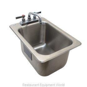 Advance Tabco DBS-1-X Underbar Sink, Drop-In