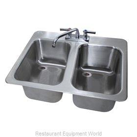 Advance Tabco DBS-2-X Underbar Sink, Drop-In