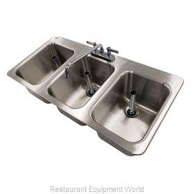 Advance Tabco DBS-3-X Underbar Sink, Drop-In