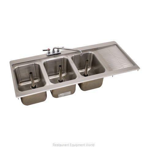 Advance Tabco DBS-43L-X Underbar Sink, Drop-In