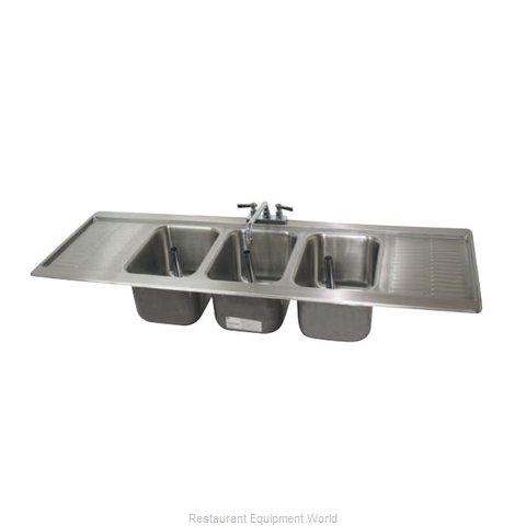 Advance Tabco DBS-63C Underbar Sink, Drop-In