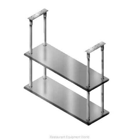 Advance Tabco DCM-18-48 Overshelf, Ceiling-Mounted