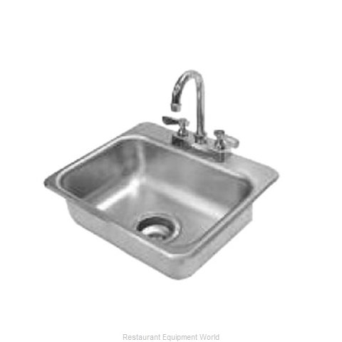 Advance Tabco DI-1-35 Sink, Drop-In (Magnified)