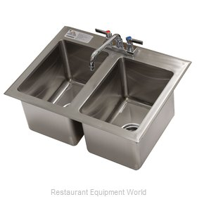 Advance Tabco DI-2-10-EC-X Sink, Drop-In