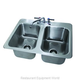 Advance Tabco DI-2-10 Sink, Drop-In