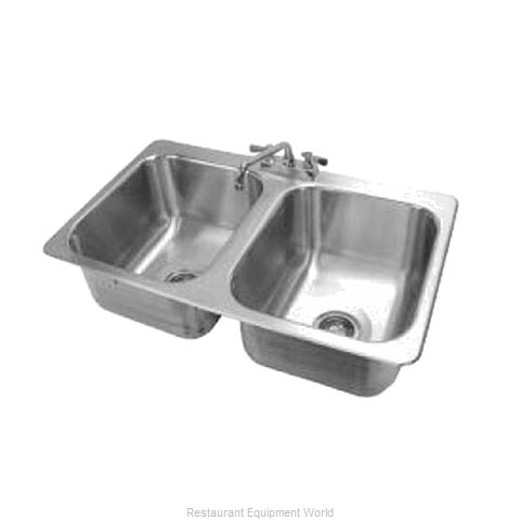 Advance Tabco DI-2-1410-1X Sink, Drop-In