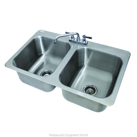 Advance Tabco DI-2-1410 Sink, Drop-In (Magnified)