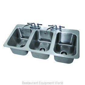 Advance Tabco DI-3-10-2X Sink, Drop-In