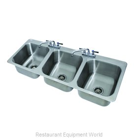 Advance Tabco DI-3-1410 Sink, Drop-In