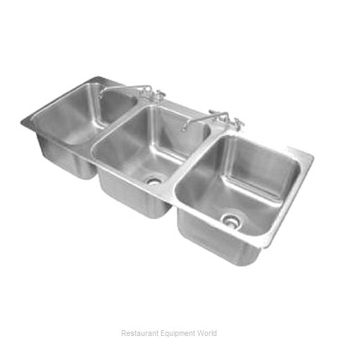 Advance Tabco DI-3-1612-1X Sink, Drop-In