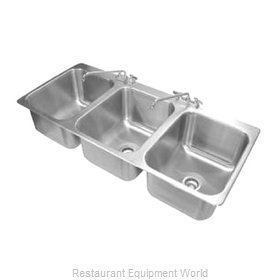 Advance Tabco DI-3-1612 Sink, Drop-In