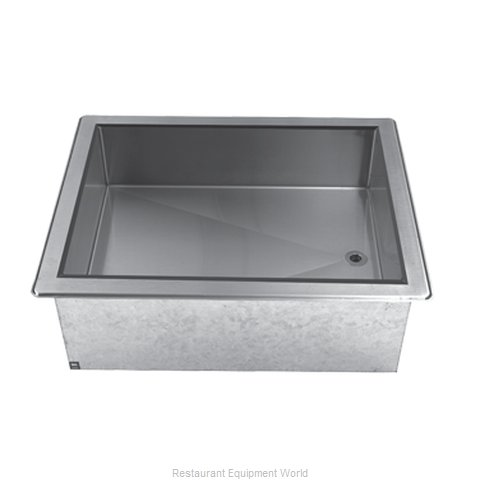 Advance Tabco DICP-2 Cold Food Well Unit, Drop-In, Ice-Cooled