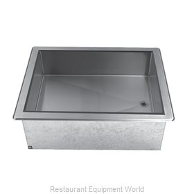 Advance Tabco DICP-6 Cold Food Well Unit, Drop-In, Ice-Cooled