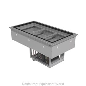 Advance Tabco DIRCP-3 Cold Food Well Unit, Drop-In, Refrigerated