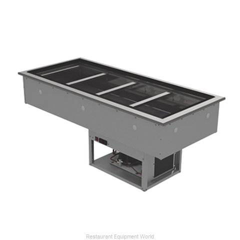 Advance Tabco DIRCP-4 Cold Food Well Unit, Drop-In, Refrigerated