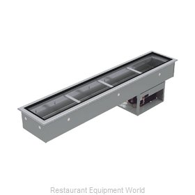 Advance Tabco DISLRCP-4 Cold Food Well Unit, Drop-In, Refrigerated