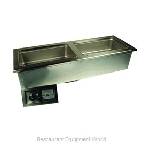 Advance Tabco DISLSW-2-120 Hot Food Well Unit, Drop-In, Electric