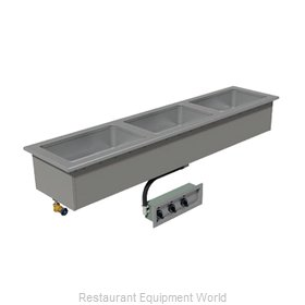 Advance Tabco DISLSW-3-120 Hot Food Well Unit, Drop-In, Electric