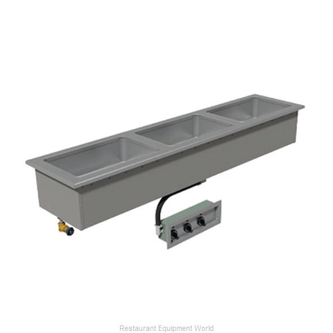 Advance Tabco DISLSW-3-240 Hot Food Well Unit, Drop-In, Electric