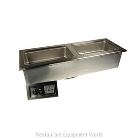 Advance Tabco DISLSW-4-240 Hot Food Well Unit, Drop-In, Electric