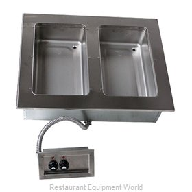 Advance Tabco DISW-2-240 Hot Food Well Unit, Drop-In, Electric