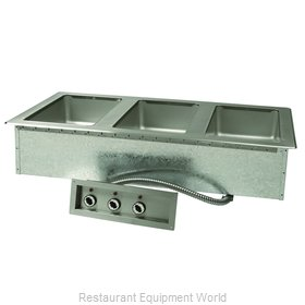 Advance Tabco DISW-3-120 Hot Food Well Unit, Drop-In, Electric