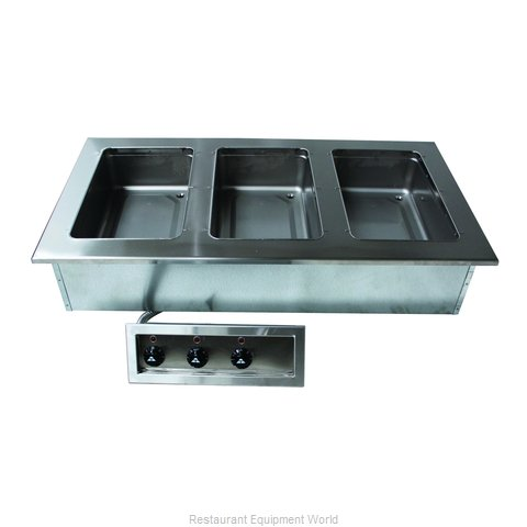 Advance Tabco DISW-3-240 Hot Food Well Unit, Drop-In, Electric