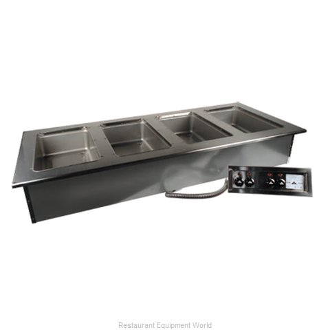 Advance Tabco DISW-6-240 Hot Food Well Unit, Drop-In, Electric