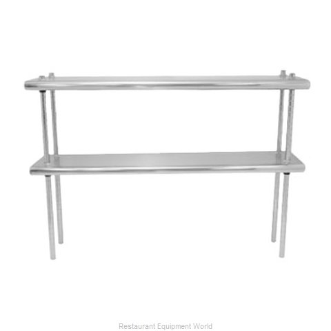 Advance Tabco DS-12-120 Overshelf, Table-Mounted