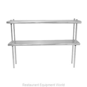 Advance Tabco DS-12-132R Overshelf, Table-Mounted