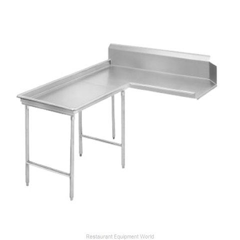 Advance Tabco DTC-G30-108L Dishtable Clean L Shaped (Magnified)
