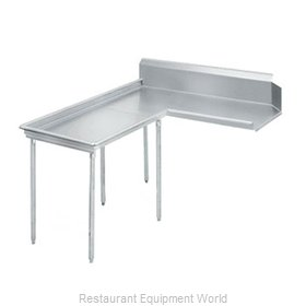 Advance Tabco DTC-G60-60L Stainless Steel Dishtable