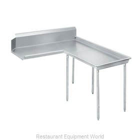 Advance Tabco DTC-G60-60R Stainless Steel Dishtable