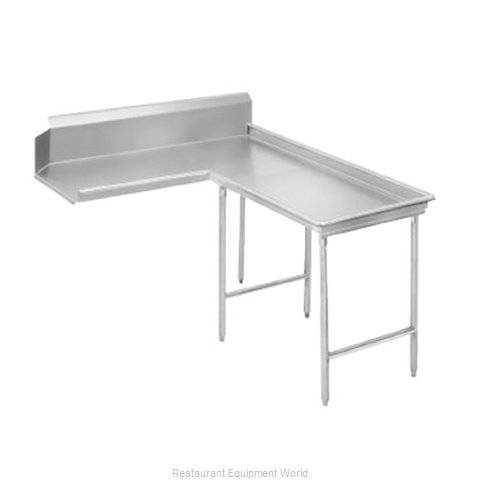 Advance Tabco DTC-G70-48R Dishtable Clean L Shaped