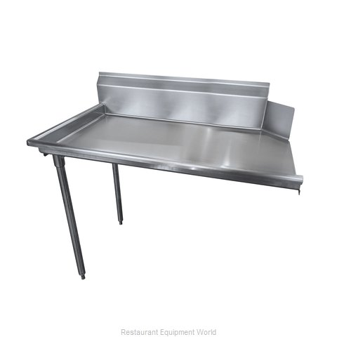 Advance Tabco DTC-S60-60L-X Stainless Steel Straight Dish Table