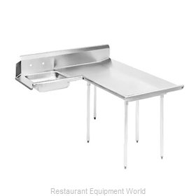 Advance Tabco DTS-D60-120R Stainless Steel Dishtable