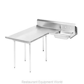 Advance Tabco DTS-D60-72L Stainless Steel Dishtable