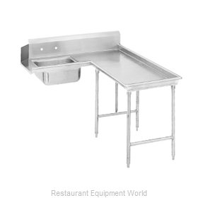 Advance Tabco DTS-G30-84R Dishtable, Soiled