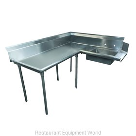 Advance Tabco DTS-K60-48L Stainless Steel Dishtable