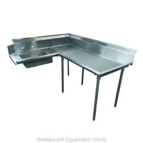 Advance Tabco DTS-K60-72R Stainless Steel Dishtable