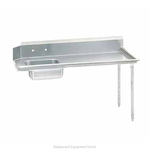 Advance Tabco DTS-S60-72R-X Stainless Steel Straight Dish Table